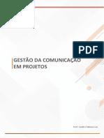Gestão Comunicação Projetos - Aula 4