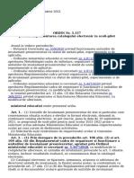 Lex - ORDIN ADMINISTRATIE PUBLICA 5157_2021 - Publicare 07 Septembrie 2021