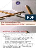SJ-5112_1011_4 Safety Issues on Geometric Design