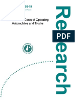 The Per-Mile Costs of Operating Automobiles and Trucks Final Report - 2003