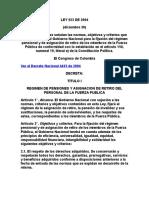 Ley 923 de 2004 - Funcion Publica