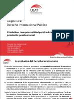la responsabilidad penal individual y la corte penal internacional