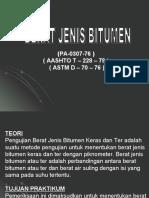 Presentation Berat jenis bitumen