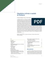 Stimulation cérébrale et maladie de Parkinson