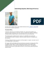 Brooklyn New York Dentist Brings Expertise, Wide Range of Services