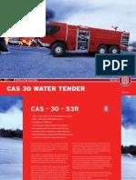 CAS30 water tender