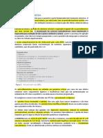 Resumão Ligamin + Raio-x