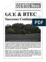 GCE-BTEC News - May 2010