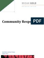 Community Responses