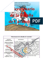 PA  BICENTENARIO DE LA BATALLA DE CARABOBO