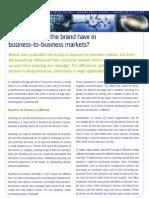 MillwardBrown_KnowledgePoint_BusinessToBusinessMarkets