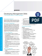 3 - Developing Management Skills