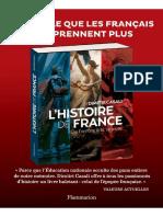 Couverture de l'Histoire de France (Point de Vue Histoire)