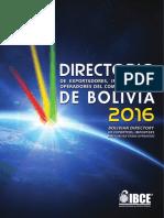 Directorio de Importadores en Bolivia