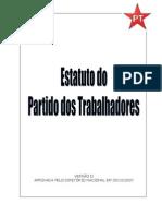 ESTATUTO DO PARTIDO -  PT