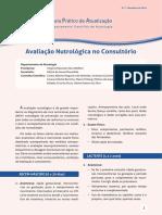 Avaliação Nutrológica No Consultório (SBP, 2016)