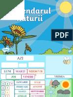 Ro Ds 268 Calendarul Naturii Powerpoint Interactiv Ver 1