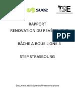 Rapport Renovation Revêtement Bache Step Strasbourg