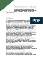 relacion entre la proteína C Reactiva y la adiposidad abdominal