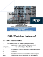 5th European Patients Rights Day / Mary Baker, European Federation of Neurological Associations