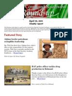 Regional Command Southwest - April 10 Roundup