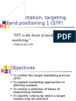 Lecture 4 Segmentation and targeting 2010-11