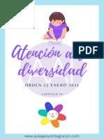 Atencion Diversidad Orden 15 Enero 2021