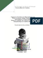 Tese_Cláudia Alfaiate_2009 - Estudos de validade com a BANC na PHDA