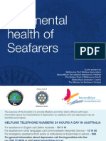 Mental Health of Seafarers