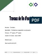 Travaux de Fin D-exe Ter Tsge