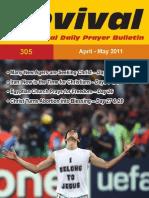 Revival Prayer Bulletin Apr/May 2011