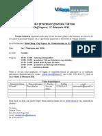 INVITATIE VALROM - ATAT DE SIMPLU CJ