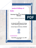 Khairlange Act - Report By State Government of Maharashtra