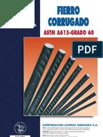 Peso varas acero Arequipa
