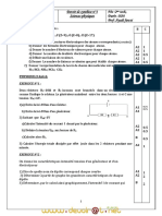 Devoir de Synthèse N°1 - Physique-Chimie - 2ème TI (2010-2011) Mr ayadi fawzi