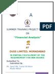 Mudit Mittal Project Report