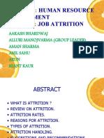 JOB ATTRITION PPT