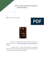 DESENVOLVIMENTO HISTÓRICO DO CONSTITUCIONALISMO PÁTRIO – A EXPERIÊNCIA CONSTITUCIONAL BRASILEIRA
