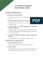 CUESTIONARIO DE DIAGNÓSTICO ECONOMIA1 UNIDAD 1