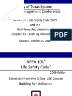 NFPA 101 - Fire Life Safety
