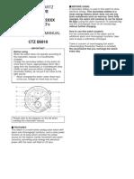 0870_Citizen Eco Drive Manual