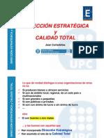 Direccion Estratégica y Calidad Total