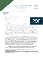 House Intel Letter to Biden Admin