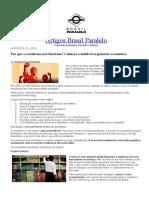 Por que o socialismo não funciona - Artigos Brasil Paralelo