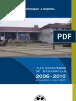 Plan Estratégico UFRO Ajustado a marzo 2009