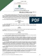 RDC Nº 63, De 25 de Novembro de 2011 (Dispõe Sobre Os Requisitos de Boas Práticas de Funcionamento Para Os Serviços de Saúde)