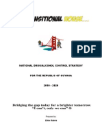 Tth-national Drug Control Strategy