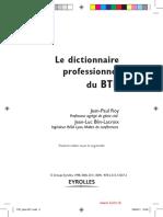 Le Dictionnaire Professionnel Du BTP (1)