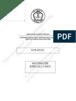MATHEMATICS  SCEME PAPER 2
