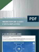 MEDICION DE GASES CONTAMINANTES
